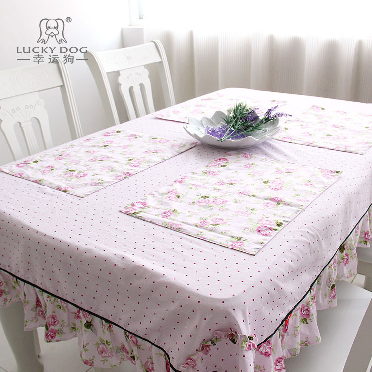 Rustic table cloth table cloth roses anne long dining table cloth multi-purpose gremial