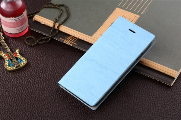 Hot Sale Elegant Wood Grain For Sony LT28i Wallet Flip Phone Leather Case Cover With Stand And Card Slots Free Shipping(China (Mainland))