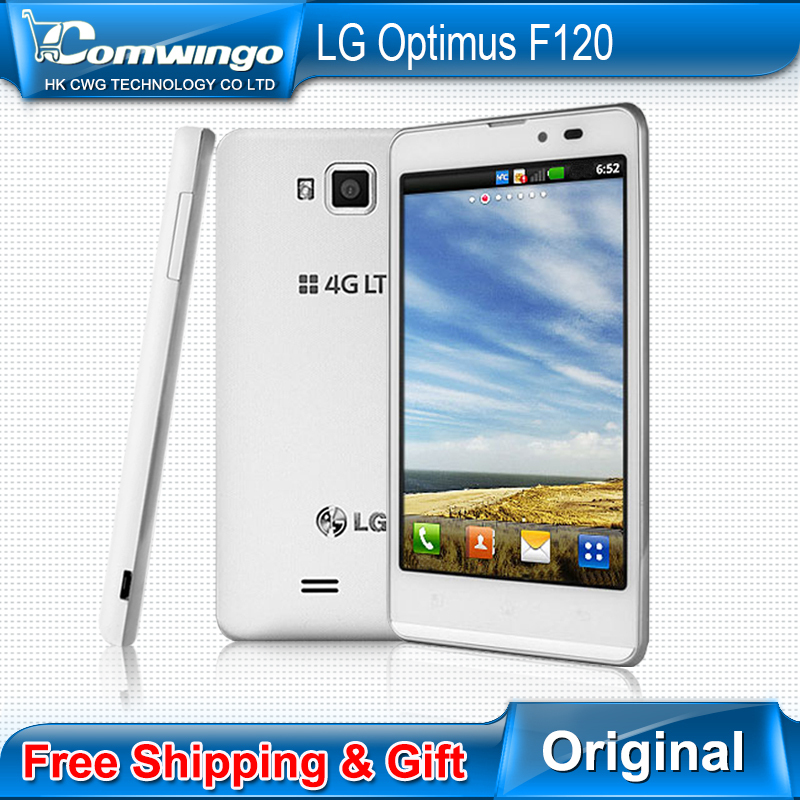 "Original LG F120 unlocked LG F120L, F120S, F120K 4.3"" capacitive touch screen Android 4.0 Dual core original phones(China (Mainland))"