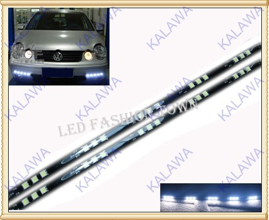 1 PAIR 5050 SMD 15 LED 30cm Led Strip Waterproof/High brightness/Low Power FREESHIPPING by China post