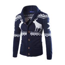 New 2015 cardigans men sweaters/ knitwear business casual/ cardigan men clothing/fashion brand design slim /men coat cotton(China (Mainland))