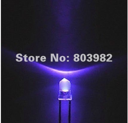 Hot sale UV 3mm led 395-400nm ultraviolet led diode(UVA products supplier)