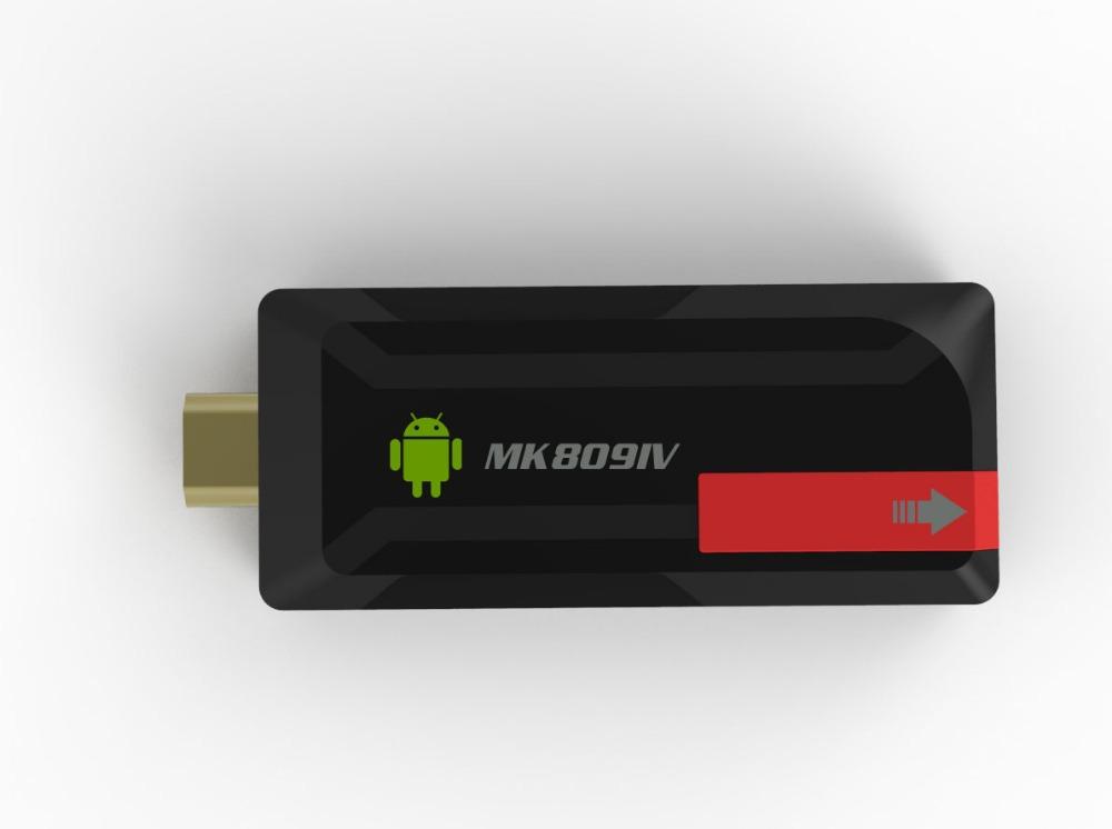 Quad Core RK3188T TV Box MK809 IV Android 4.4.2 kitkat 2GB 8GB Bluetooth Wifi Google TV Player HDMI updated MK809IV tv stick(China (Mainland))