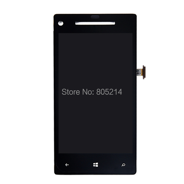 100% Test Black Top Quality Touch Screen Digitizer+LCD Display Digitizer Assembly For HTC 8X Free Shipping HTC066(China (Mainland))