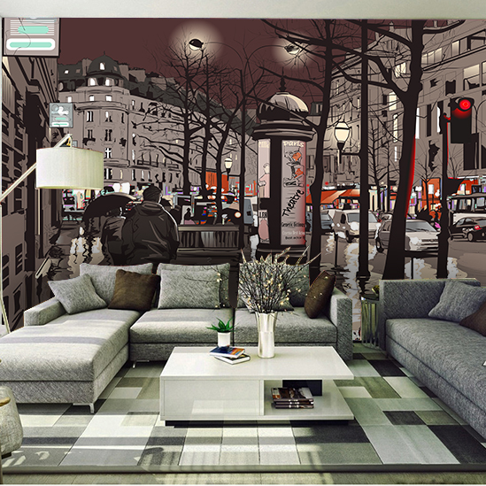 Popular wall street wallpapers buy cheap wall street - Tapices para sofas ...