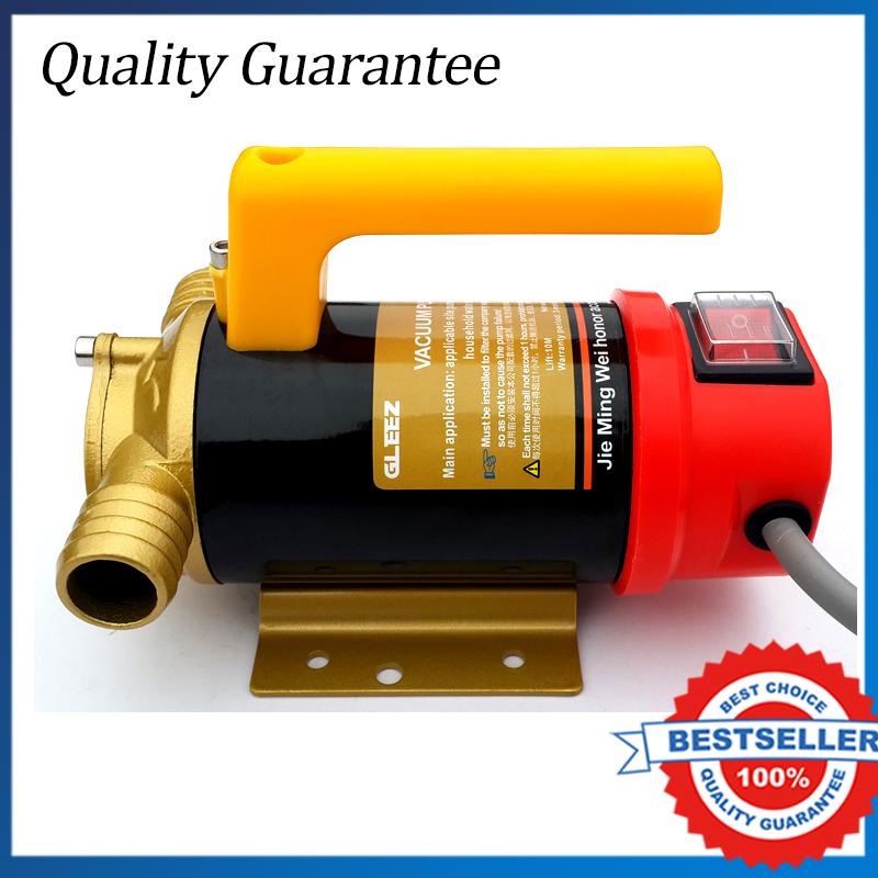 24 V Fuel Oil Diesel transferencia bomba de alta presión de la bomba de aceite autocebante bomba de paleta(China (Mainland))