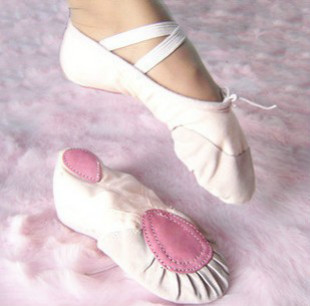 US size not right please buy as CM Size22~45 15~26cm children soft sole girls ballet shoes Women Ballet Dance Shoes kids adult(China (Mainland))