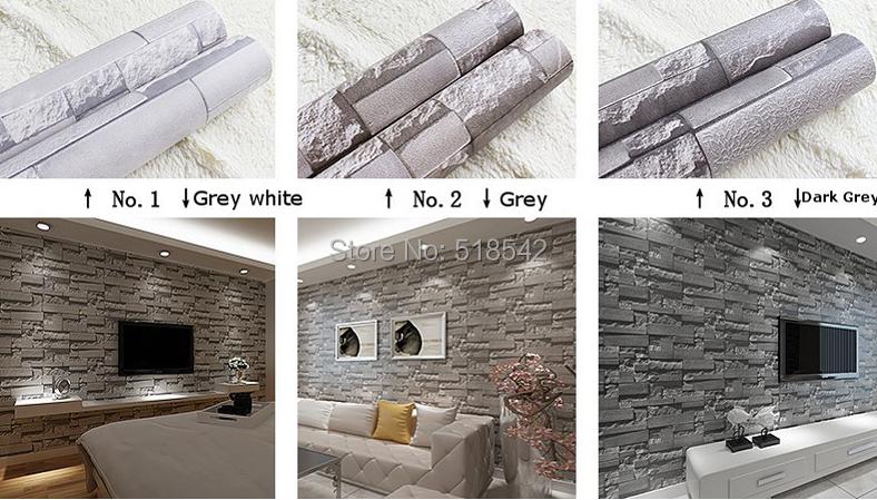 Steintapete Grau Wohnzimmer ~ Raum- und Möbeldesign-Inspiration