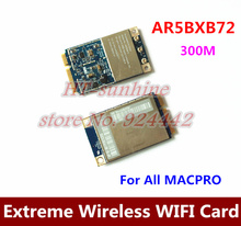 High Quality  5PCS/LOT   For All Mac Pro Atheros Airport Extreme Wireless Mini PCIE WIFI Card AR5BXB72(China (Mainland))