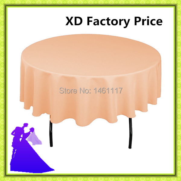 """2015 Wholesale 100% polyester 120"""" Round Tablecloth for restaurant decoration Free Shipping !!(China (Mainland))"""