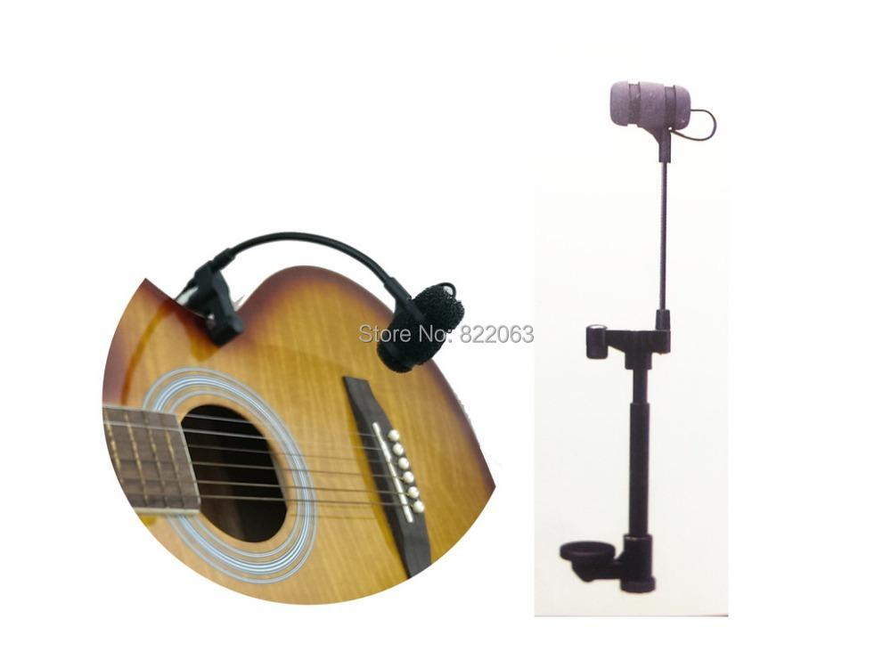 Professional Music Instruments Guitar Microphone Condenser Lapela Microfone for Shure Wirelss Transmitter XLR Mini Mikrofon(China (Mainland))