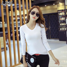 Buy Brand Blusas Tops 2017 Women Roupas Femininas Plus Size Women's Long Sleeve Tees Women Clothing Womens T-Shirt Women T Shirt for $4.89 in AliExpress store
