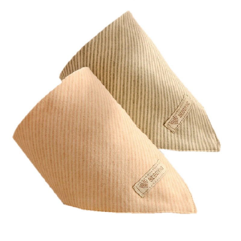 Triangle baby cotton towels, suitable for infants and young children 0-5 years old, comfortable environmental health