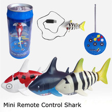 1 piece  Mini Rechargeable remote control small sharks electric submarines Series Toys(China (Mainland))