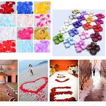 Wholesale 100 Pieces Flower Purple Wedding Rose Petals 2015 Fashion Wedding Birthday Party Decorations Atificial Petals Birthday(China (Mainland))