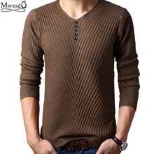 2016 Spring autumn Brand men Casual sweater mens Cashmere Wool Pullover christmas sweater men Dress Knitted Sweater Clothing(China (Mainland))