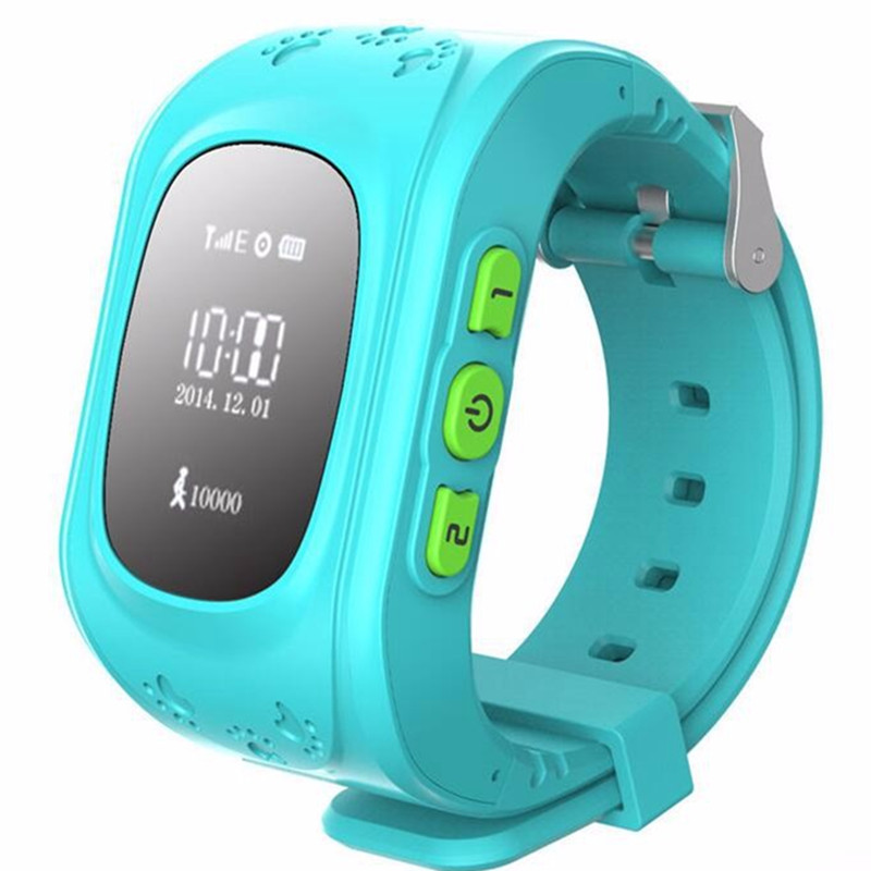 Kids GPS Tracking Watch Q50 New Smartwatch Support SIM Smart Electronics Smart Baby Watch SOS for Help Watch Phone GPS Tracker(China (Mainland))