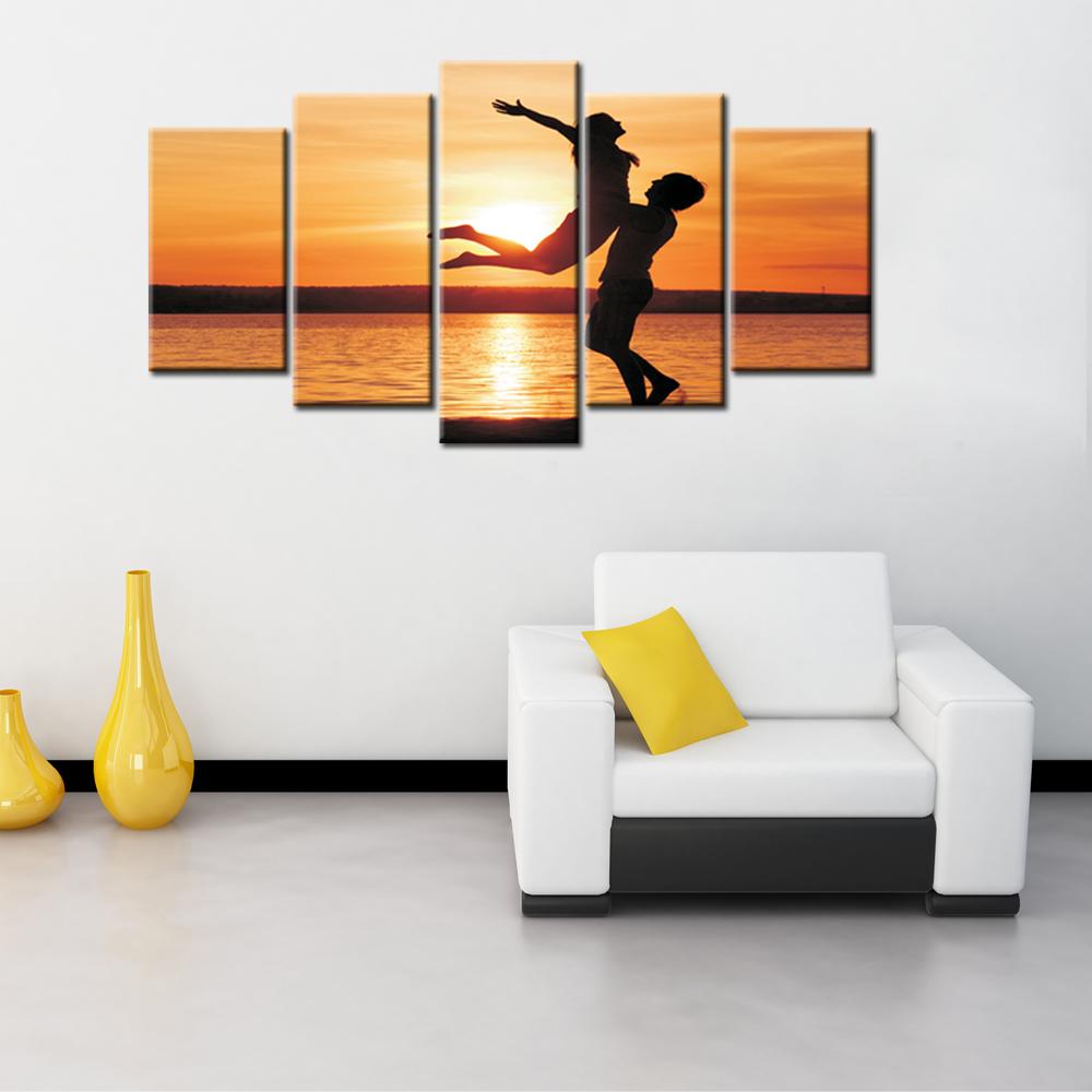 Wall Decor Pieces : Aliexpress buy artryst pieces modern wall art