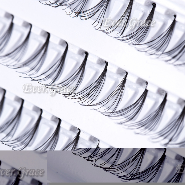 Moda maquiagem cílios falsos Individual Eye Lash cílios extensão 8 / 10 / 12 / 14 mm