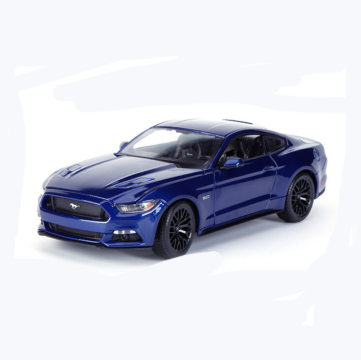 Brand car Model for Ford Mustang 1:18 Alloy Diecast hot wheels Metal Sedan Model Mini Vehicle Collection gift Toy(China (Mainland))