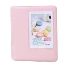 Mini Photo Album 64 Slots Fujifilm Instax Film 8 7s 25 50s 90 Camera-pink - City of Angels 0501 store
