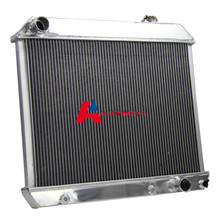3 ROW/CORE ALUMINUM RADIATOR FOR 63-66 CHEVY TRUCK PICKUP SUBURBAN 1963-1966 NEW High Performance Cooling Motorcycle Parts(China (Mainland))