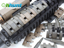 32Pcs/Pack Tactical Gun Accessories Universal Rubber Handguard Quad XTM Enhanced Modular Full Profile 1913 Picatinny Rail Covers(China (Mainland))