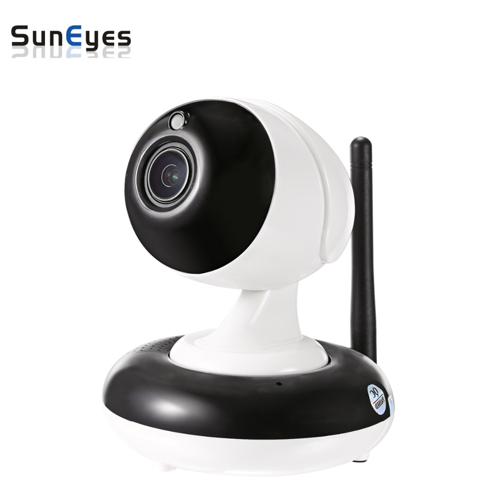 SunEyes SP-V905W 960P 1.3MP HD Wireless PTZ IP Camera Pan/Tilt 2.8-8mm Optical Zoom Auto Focus 1/3 Sensor Low Lux IR Night