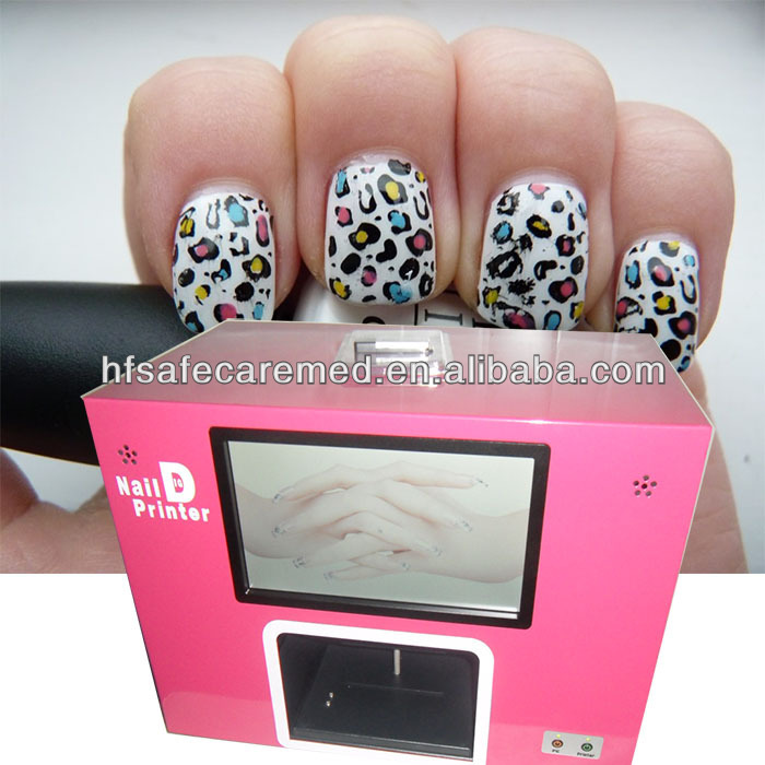 Nail Art Design Printing Machine Hession Hairdressing