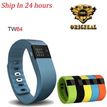 Hot IP-X6 TW64 Bluetooth Smartband Bracelet Smart Fitness Tracker Sport Band Wristband Pedometer PK Fit Bit Xiaomi Mi Band 1S
