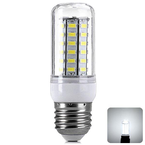 E27 7W 220 - 240V 1400LM High Quality LED Lamp For Living Room Corn Bulbs SMD-5730 LEDs Home Use LED Cool White Corn Light(China (Mainland))