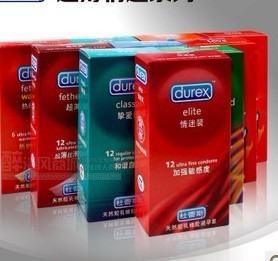 Durex, 120 Condoms/Lot, 12 kinds be choose. Durex condoms, sex toy. Sex product , free shipping