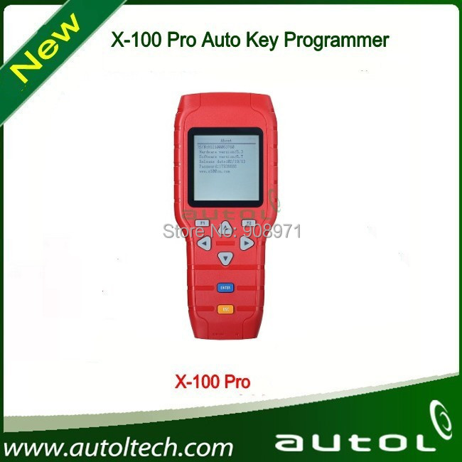 X-100 Pro Key Programmer Including x-100 All the Matching Function and Add New Software Function In X100 Pro Programmer(China (Mainland))