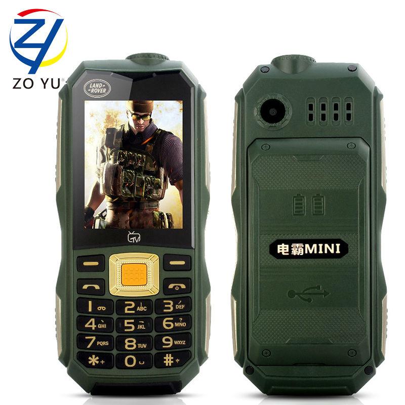 ZOYU C12 TV senior phone 2Gdual sim dual standby mobile phone land rove business phone the flashlights phone cell phone(China (Mainland))