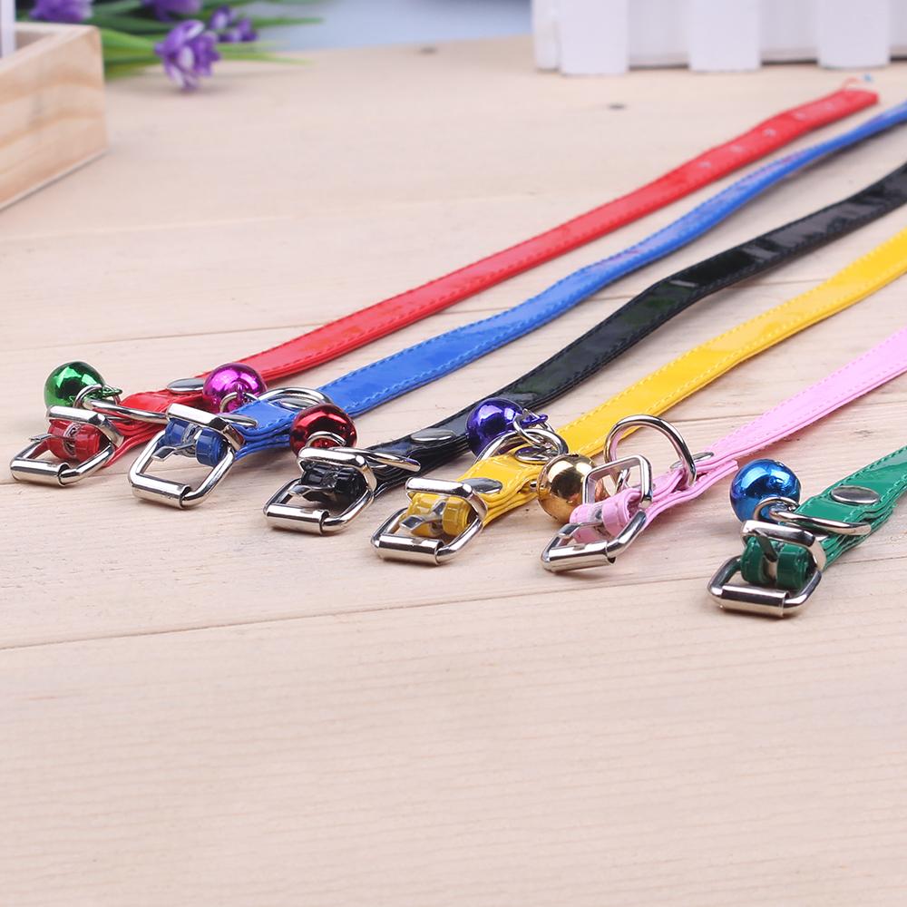 6 видов цвет собака и кошка тягового каната тягового каната ожерелье животное ошейник пояс цепи воротник