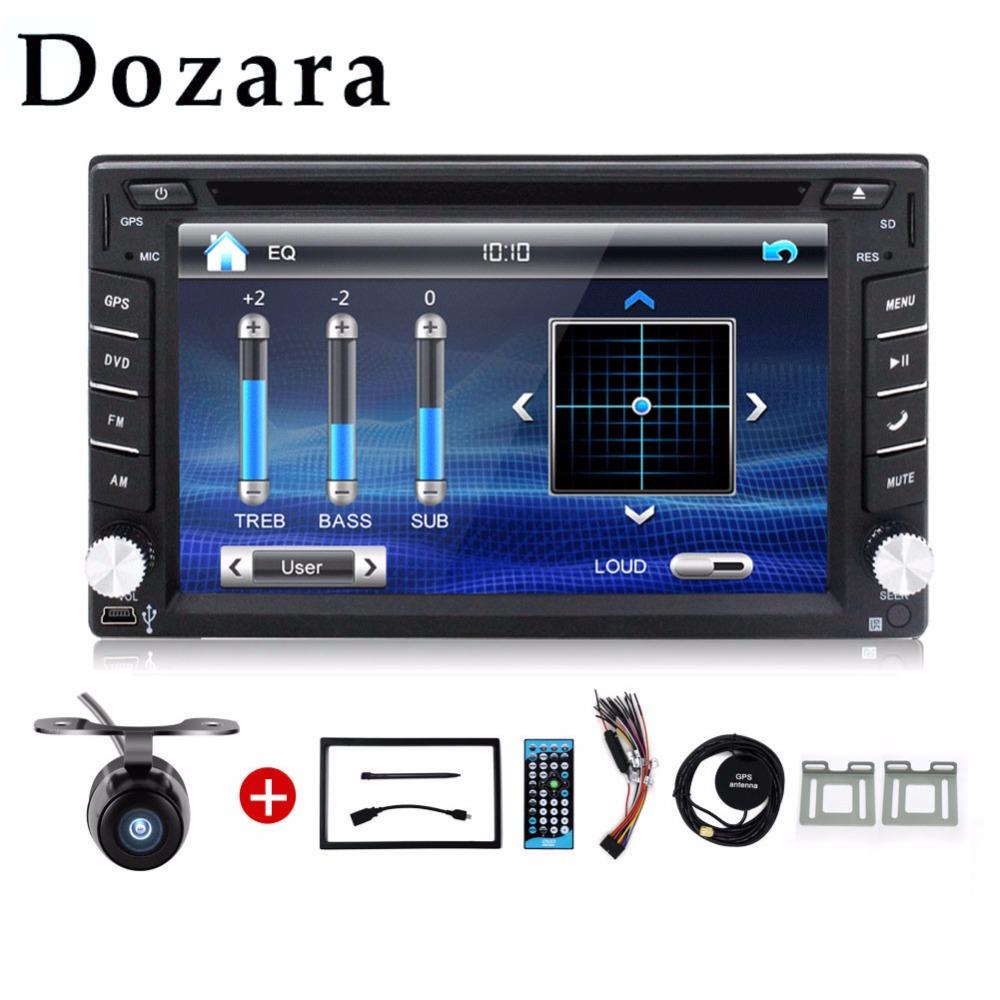 2din Car DVD player GPS Radio Bluetooth 2 din universal for X-TRAIL Qashqai x trail juke for nissan Stereo Radio Bluetooth USB(China (Mainland))