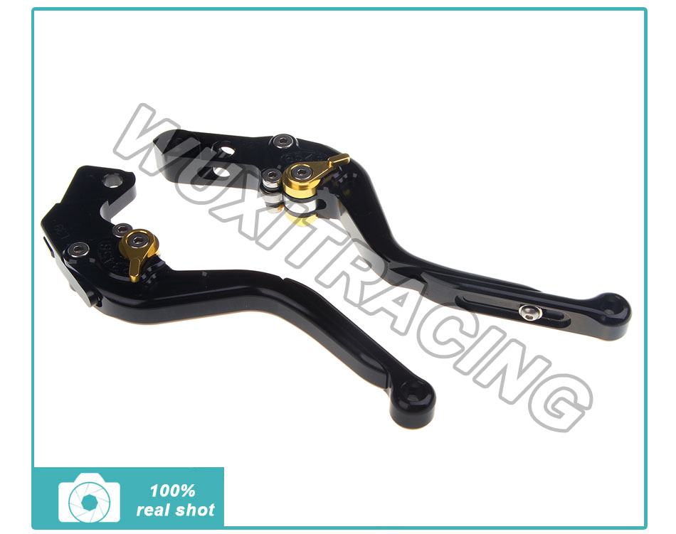 Фотография CNC Adjustable Extendable Brake Clutch Lever For FJR XJR 1300 2003 2004 2005 2006 2007 2008 2009 2010 2011