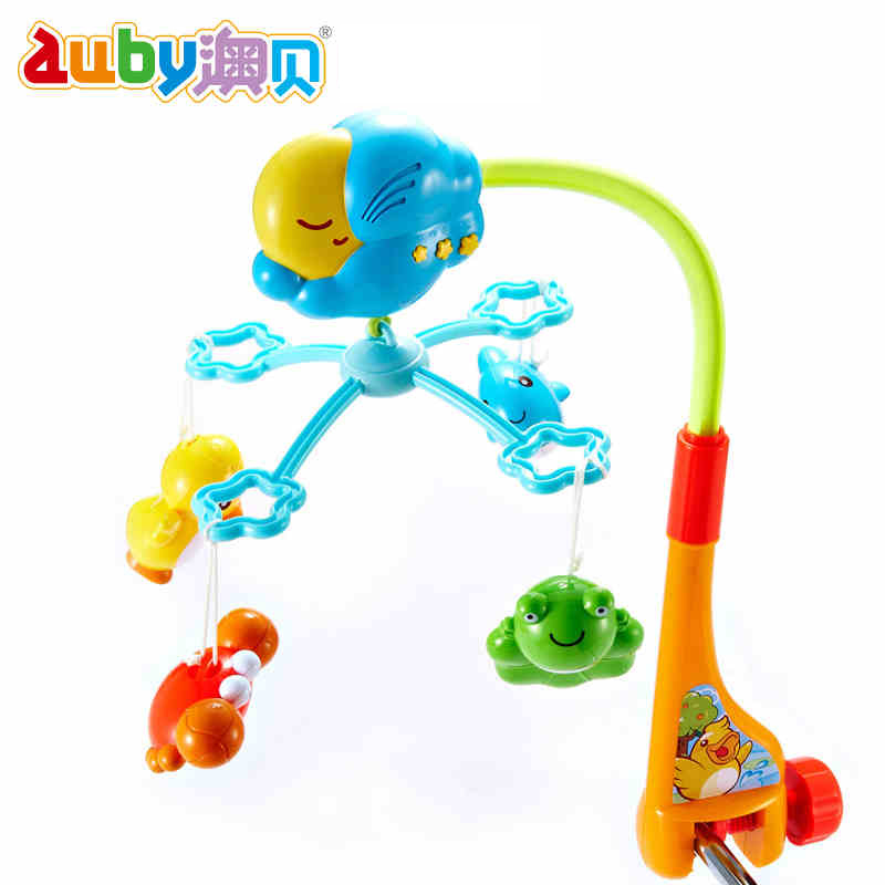 2014 Sale Limited Freeshipping 0-12 Months Baby Toy Baby Toys Bed Bell Rotating 0-1 Years Early Newborn On The Pond Aubay Music(China (Mainland))