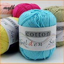 Buy mylb 5 10ball=500g Yarns Pure Baby 100% Cotton Yarn Eco-Friendly Dyed Crochet Yarn Knitting Garn for $14.16 in AliExpress store