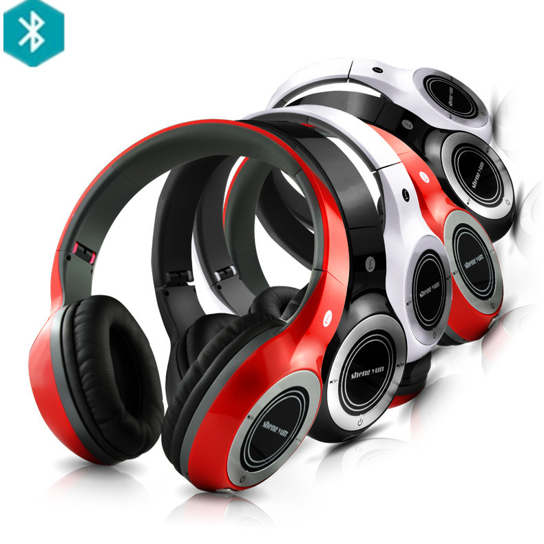 TH320 Wireless Bluetooth Stereo Headphone Game Gaming Headset Earphones with Microphone, Support TF Card, FM Radio(China (Mainland))
