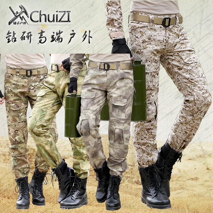Free shipping outdoor Tactical Camouflage pants men sports Special forces Overalls desert Multi-pocket mens trousers militaireОдежда и ак�е��уары<br><br><br>Aliexpress