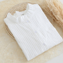 Plus SizeS-XL Hollow Out Tops Embroidery Lace Blusas Ladies White Shirt Female Casual Clothing Women Blouses for Girls 2016