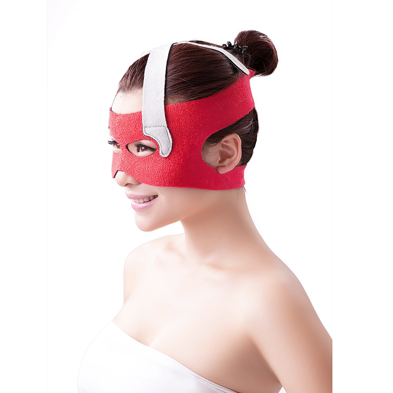 Free Shipping New 1Pcs Free Size Slim Face Masks Face Shaping Bandage Thin Face Mask Skin Lifting Cover Eyes Anti Crow's Feet(China (Mainland))