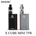 Electronic Cigarette Vape Box Mod Kit for Micro TFV4 Atomizer Atta Tank E cigarette SMOK X