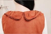 Новый осенью девушка моды Зима Мори платья случайные падения Одежда женская одежда без рукавов хлопок женщин мини-платье 1007k