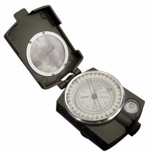 Buy Hot Sale Noctilucent Type Army Outdoor Use Military Travel Geology Pocket Prismatic Compass,Waterproof+Pouch for $14.46 in AliExpress store