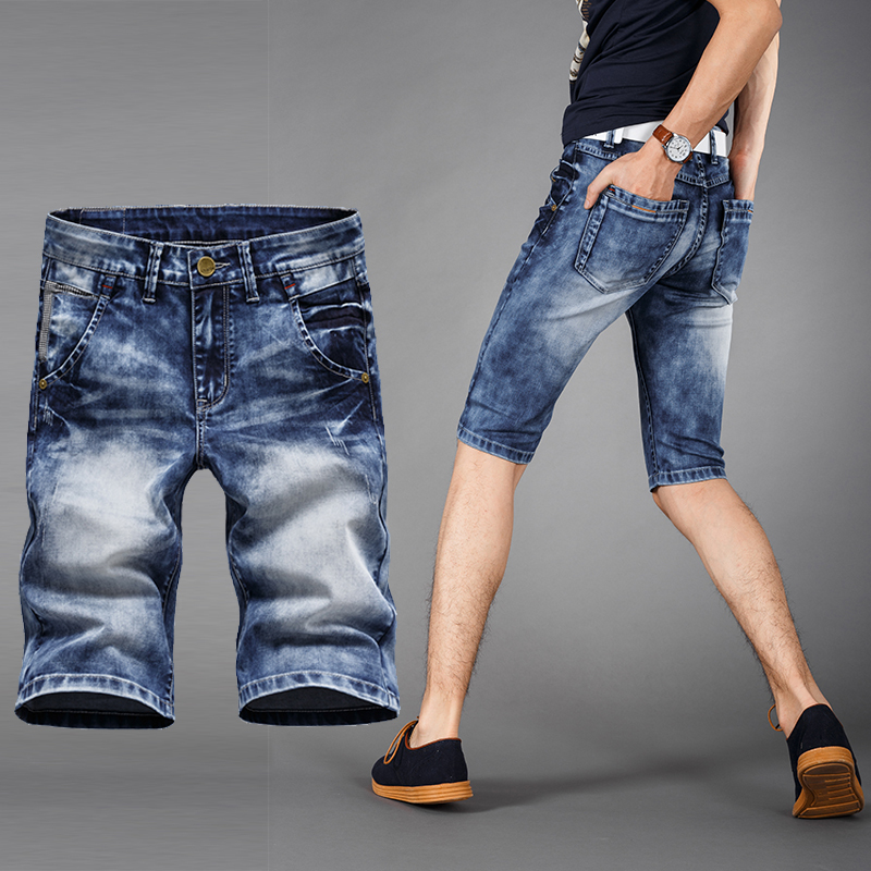 2015 New cowboy Men shorts summer fashion casual men jeans sports Denim shorts,,XY957 - ALICOWBOY store