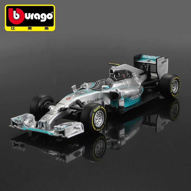 Bburago 1:32 F1 - AMG Racing w05 hybrid #44 lewis hamilton #6 Nico Erik Rosberg Collection gift Free Shipping(China (Mainland))