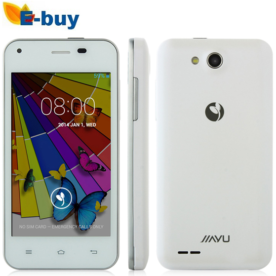 Original JIAYU F1 MTK6572 WCDMA 3G Dual Core Android OS 512MB RAM 4G ROM Metal Frame 5MP Camera - E-Buy Store store