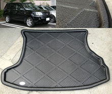 Accessories FIT FOR 2001 2002 2003 2004 2005 2006 2007 NISSAN X-TRAIL T30 REAR TRUNK TRAY BOOT LINER CARGO FLOOR MAT XTRAIL(China (Mainland))